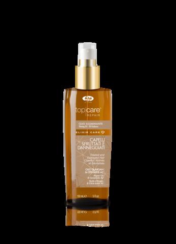 Масло-эликсир для восстановления и придания сияющего блеска - Lisap Elixir Care Oil 150 мл