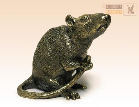 статуэтка Крыса сидит