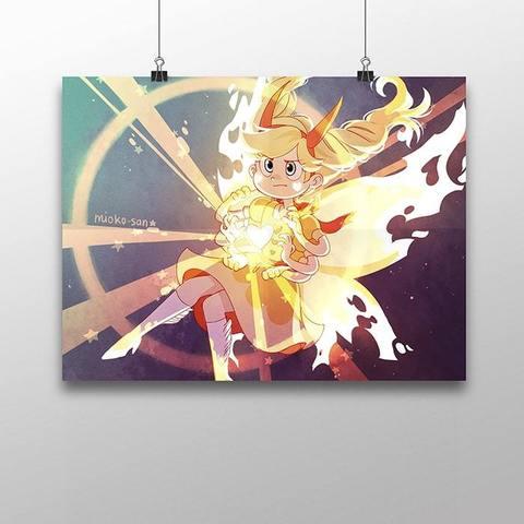 Плакат со Стар Баттерфляй №4