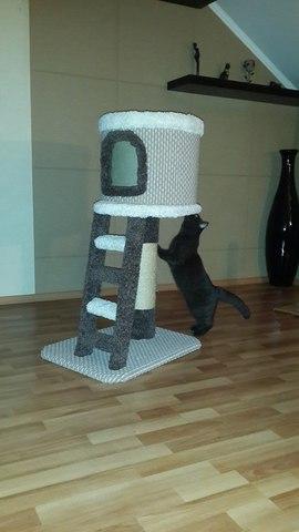 Домик для кошки Н-2