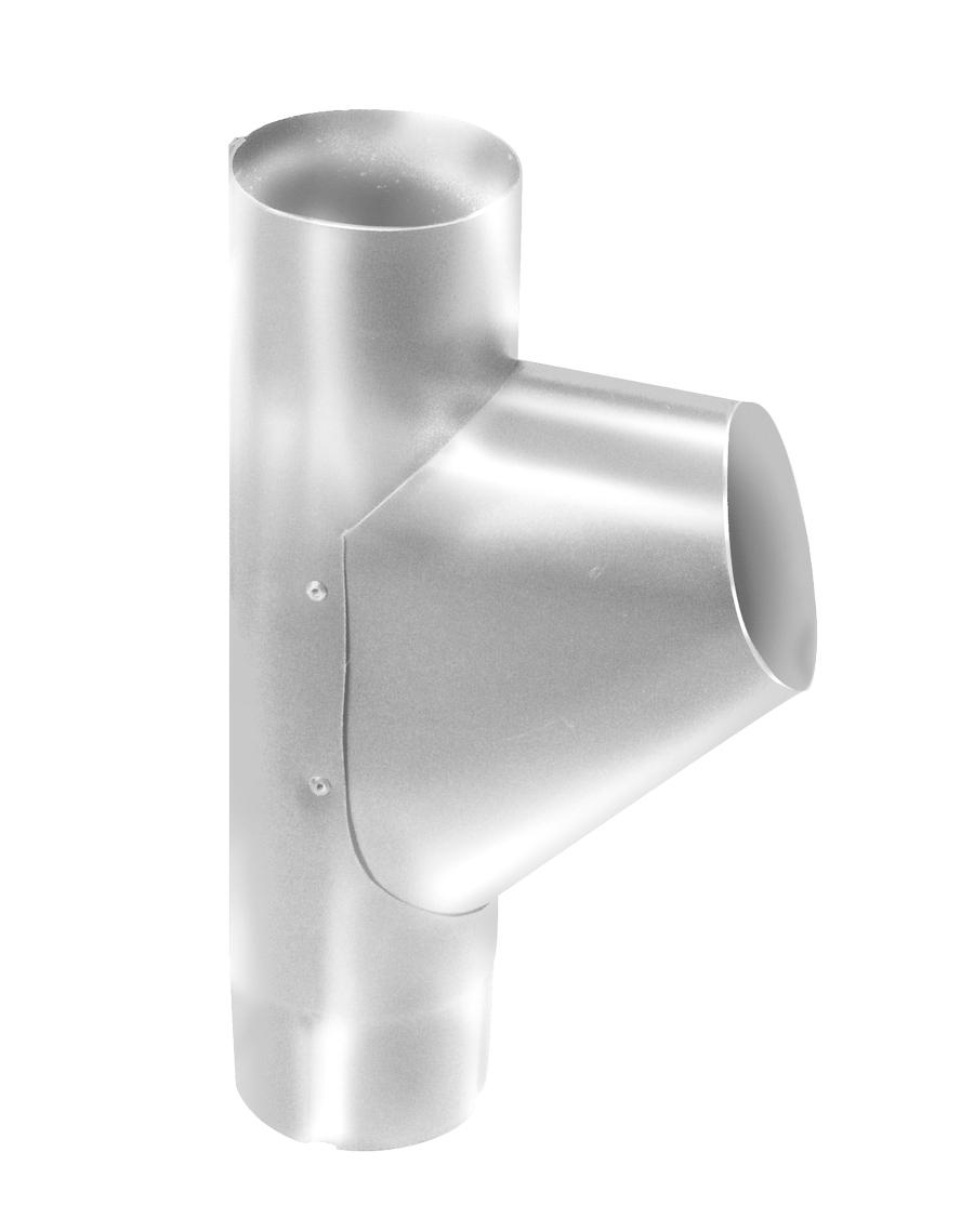 Белый Тройник трубы ф90 (RAL 9003) Тройник_трубы_ф90__RAL_9003_.png