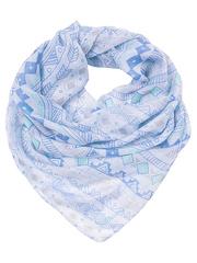 FC428-1-4 платок, голубой