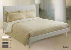 Постельное белье 2 спальное евро Roberto Cavalli Basic белое