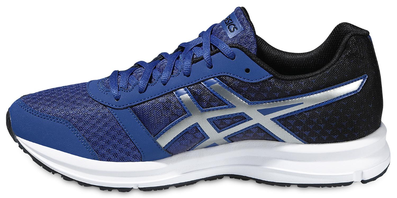 Мужские кроссовки Asics Patriot 8 (T619N 4393) синие фото