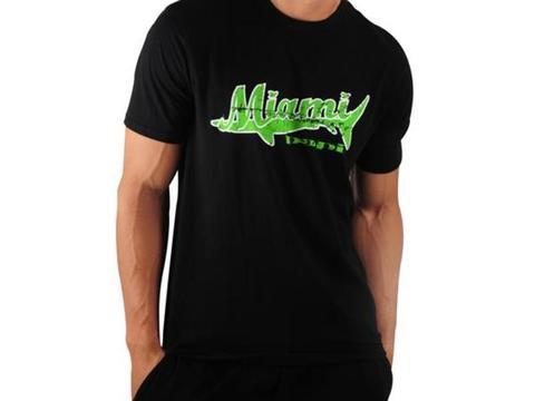 Мужская футболка черная PAPI Miami