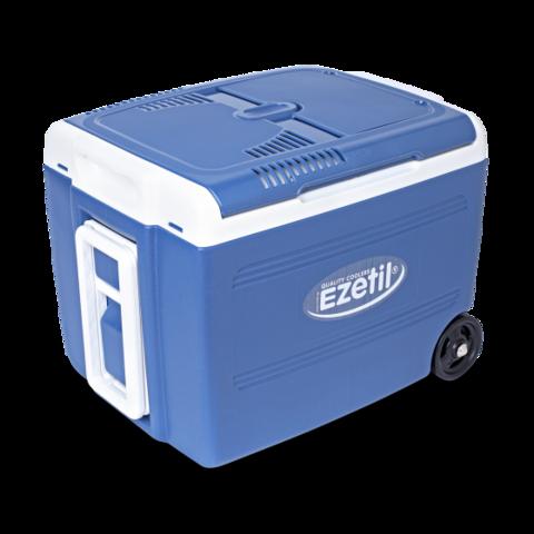 Термоэлектрический автохолодильник Ezetil E 40 M 12/230V Manual Boost (12V/220V, 40л, синий)