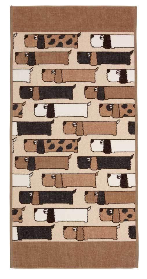 Полотенца Полотенце 50x100 Feiler Dogs 144 safari elitnoe-polotentse-shenillovoe-dogs-144-safari-ot-feiler-germaniya.jpg