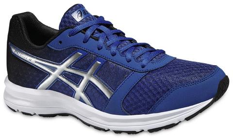 Мужские кроссовки для бега Asics Patriot 8 (T619N 4393) синие фото