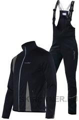 Утеплённый лыжный костюм Nordski Active Black-Grey мужской