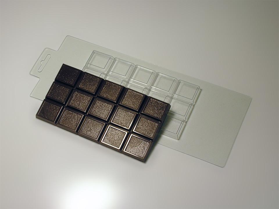 Форма для шоколада Мелкое зерно