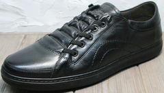Черные кеды кроссовки мужские осенние Novelty 5235 Black
