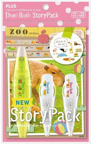 Набор Plus Deco Rush Story Pack - Zoo