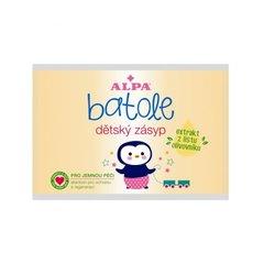 BATOLE Детская присыпка с экстрактом из листьев оливкового дерева - запасная упаковка, пакет