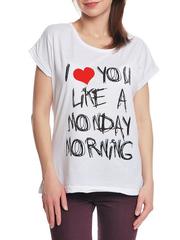 37662-10-2 футболка женская, белая