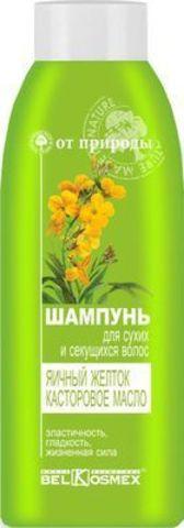 BelKosmex ОТ ПРИРОДЫ Шампунь для сухих и секущихся волос Яичный желток Касторовое масло 500г