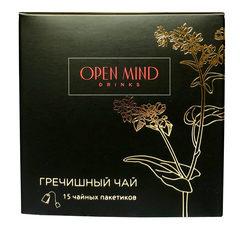 Open Mind, Гречишный чай, 90г (15 пакетиков)
