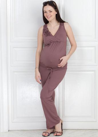 Комбинезон КВ01 т.бежевый для беременных и кормящих