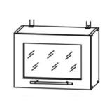 Кухня Страйп Шкаф верхний горизонтальный ШВГС 500