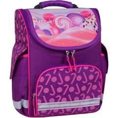 2a1cae1c0ed9 ... Рюкзак школьный каркасный с фонариками Bagland Успех 12 л. фиолетовый  409 (00551703)