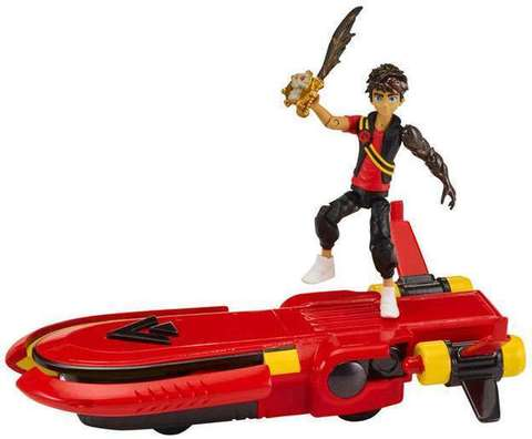 Активная фигурка Зак Шторм (Zak Storm) с лодкой - Зак Шторм, Bandai
