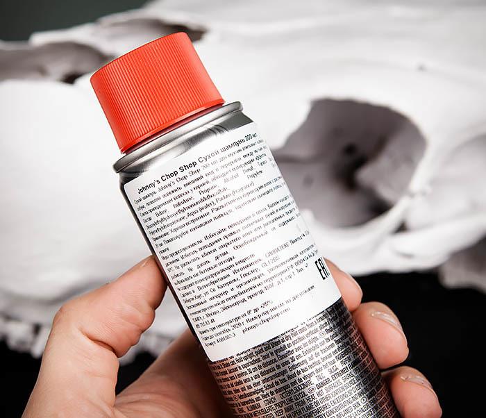 CARE111 Сухой шампунь аэрозоль Johnnu's DRY SHAMPOO (200 мл) фото 03