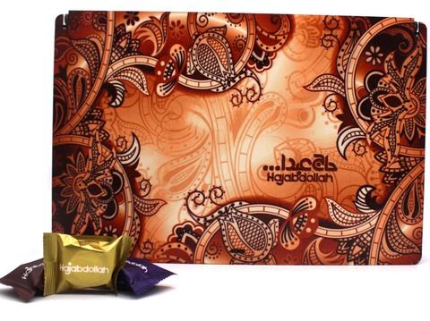 """Ассорти пишмание в подарочной деревянной упаковке """"Традиция"""", Hajabdollah, 500 г"""