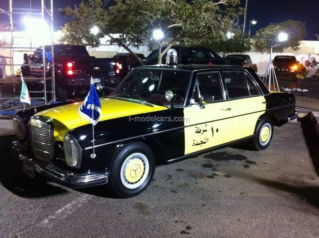 Mercedes-Benz W108 Kuwait Police 1:43 DeAgostini World's Police Car #79
