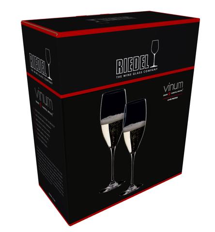 Набор из 2-х бокалов для шампанского Champagne Wine Glass 445 мл, артикул 6416/58. Серия Vinum