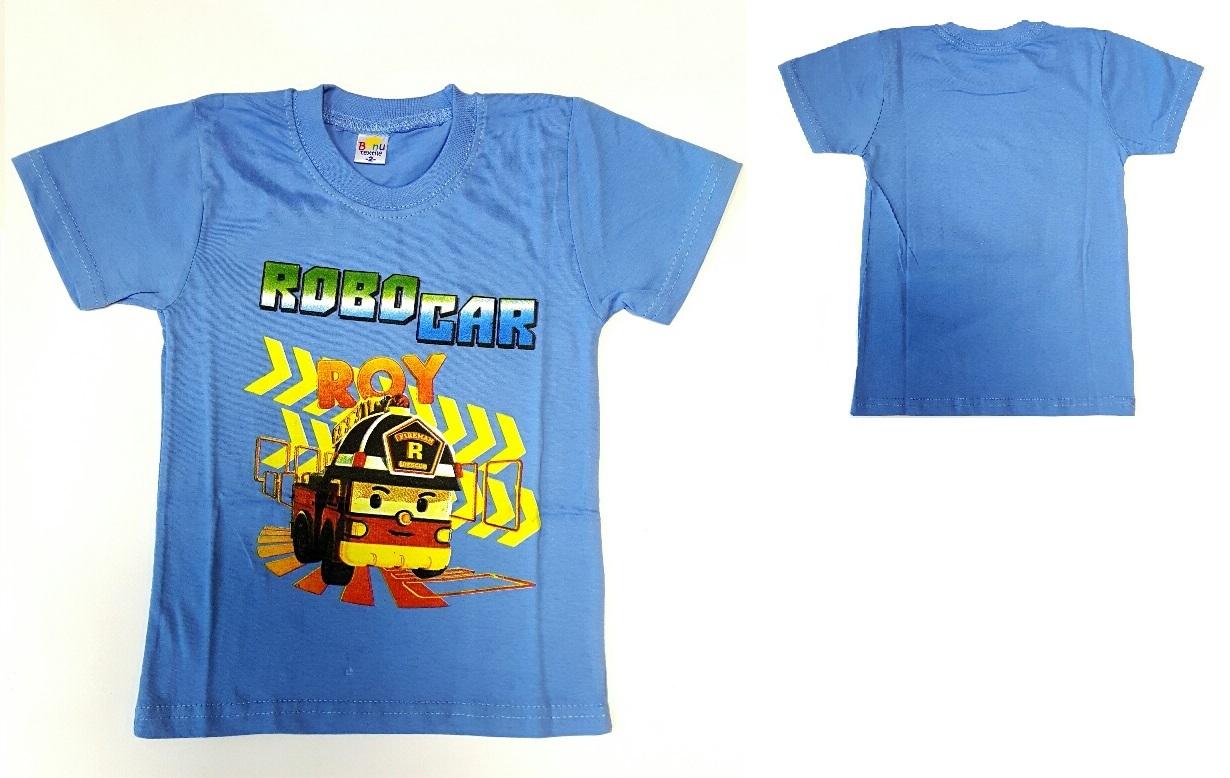 Робокар Поли футболка детская Рой
