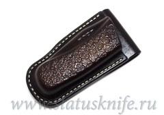 Чехол кожаный коричневый Brown 2 Buck 110