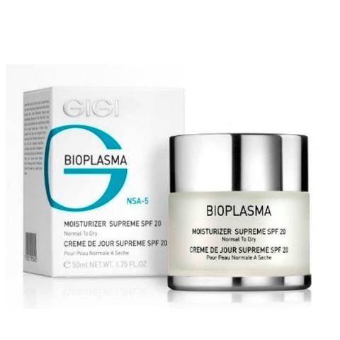 Gigi Bioplasma Moist Cream SPF 20, Увлажняющий крем для нормальной и сухой кожи, 50 мл.