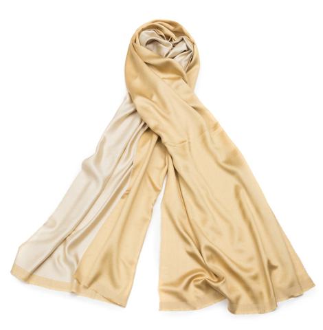 Плед-шарф 50х180 AM Paris Paraty золотой-бежевый