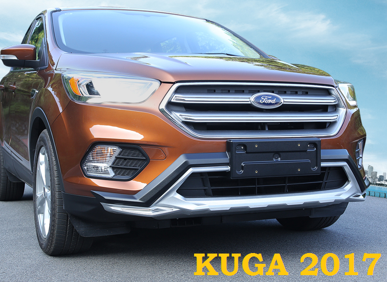 Обвес, накладки на бампера Style Sport для Ford Kuga 2017 led 2012 2015 kuga day light kuga fog light kuga headlight transit explorer topaz edge taurus fusion kuga taillight