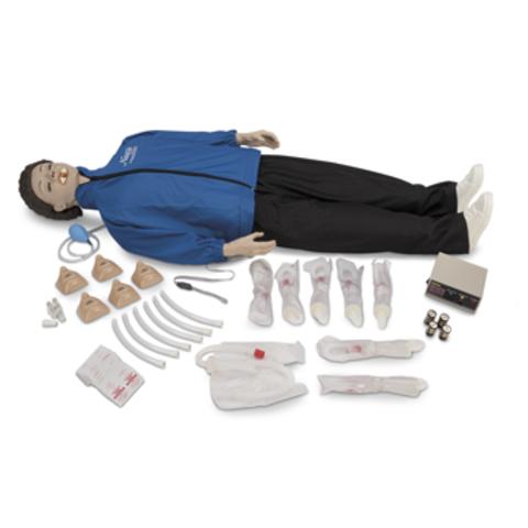 Взрослый манекен CPARLENE дыхательных путей с электроникой с блоком управления светом Артикул LF03933U