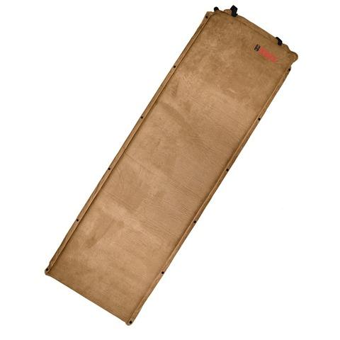 Коврик самонадувающийся BTrace Warm Pad 5 190х60х5 (M0205) (коричневый)
