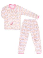 640-1 пижама детская, белая