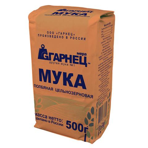 Garnec Мука полбяная ц/з 500 гр