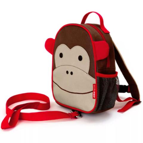 Рюкзак детский с поводком Обезьянка