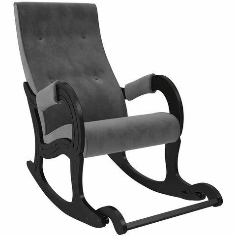 Кресло-качалка Комфорт Модель 707 венге/Verona Antrazite Grey, 013.707