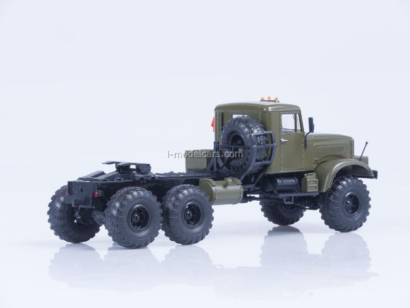 KRAZ-255V tractor khaki 1:43 AutoHistory