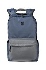 Рюкзак WENGER 14'', С водоотталкивающим покрытием, цвет синий/серый, 18 л