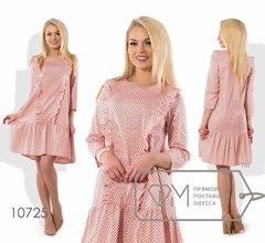 Платье в горох Фабрика Моды 10725