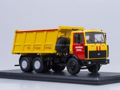 MAZ-5516 tipper Emergency Service Start Scale Models (SSM) 1:43