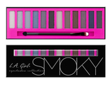 L.A. Girl Палитра теней BEAUTY BRICK EYESHADOW COLLECTION  SMOKY