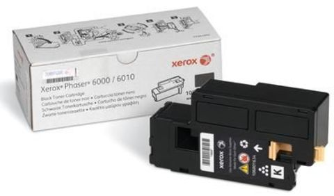 Картридж черный XEROX Phaser 6000/6010, Xerox WorkCentre 6015 106R01634. Ресурс 2000 страниц.