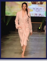 VANESSA LONG  ВАНЕССА ЛОНГ НАБОР женский махровый халат с тапками Maison Dor Турция