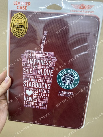 Чехол Slim Case iPad 9.7 (2017/18) /Starbucks/