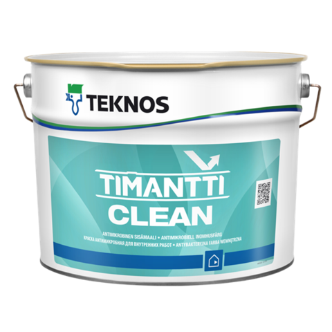 TEKNOS TIMANTTI CLEAN/Текнос Тиманти Клин Антимикробная краска