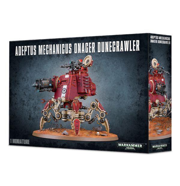 Adeptus Mechanicus Onager Dunecrawler. Коробка