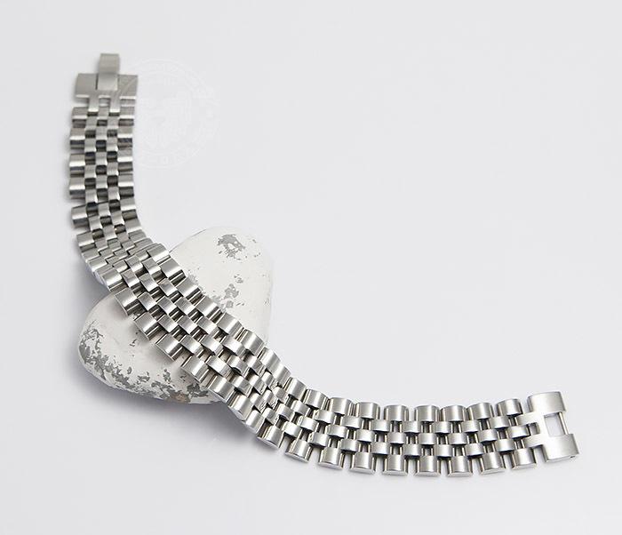 BM466 Широкий мужской браслет из стали на застежке (19 см) фото 02